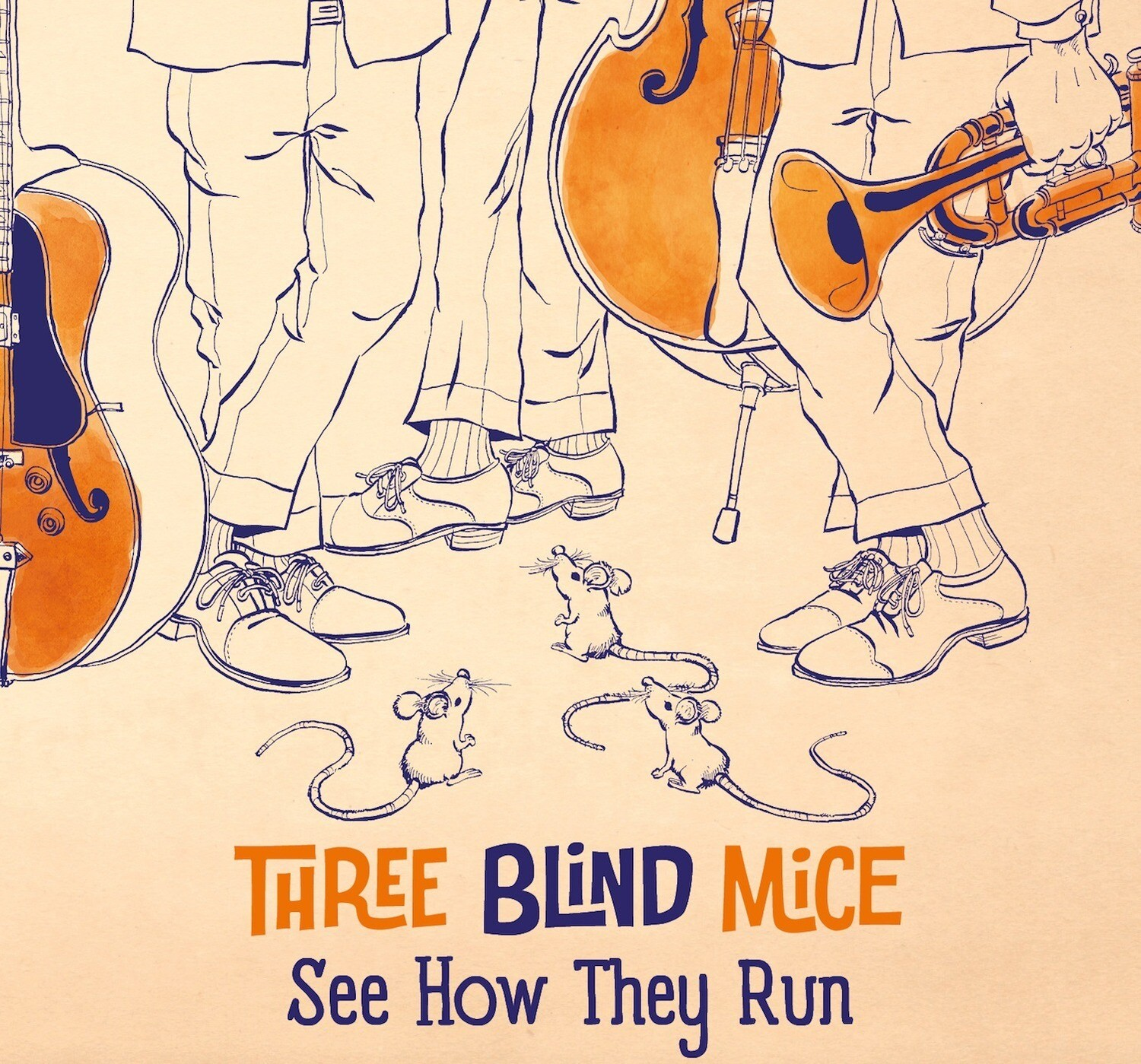 Three Blind Mice - See How They Run