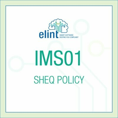IMS01-SHEQ POLICY