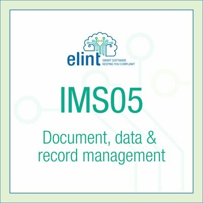 IMS05-Document,data & record management