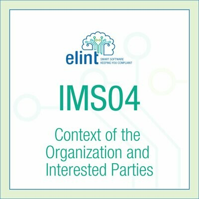 IMS04-Context of the Organization and Interested Parties