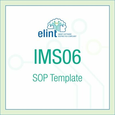 IMS06-SOP Template
