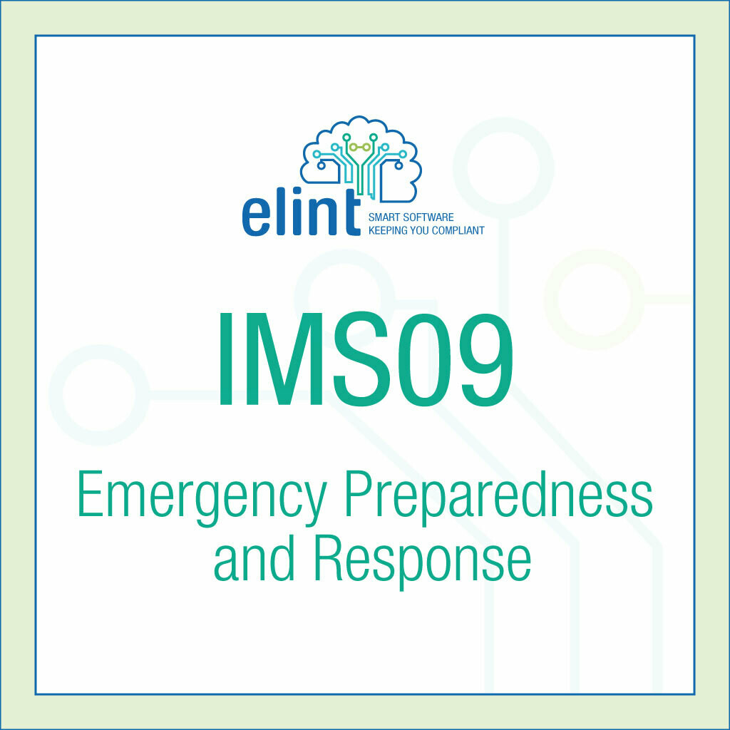 IMS09-Emergency Preparedness and Response