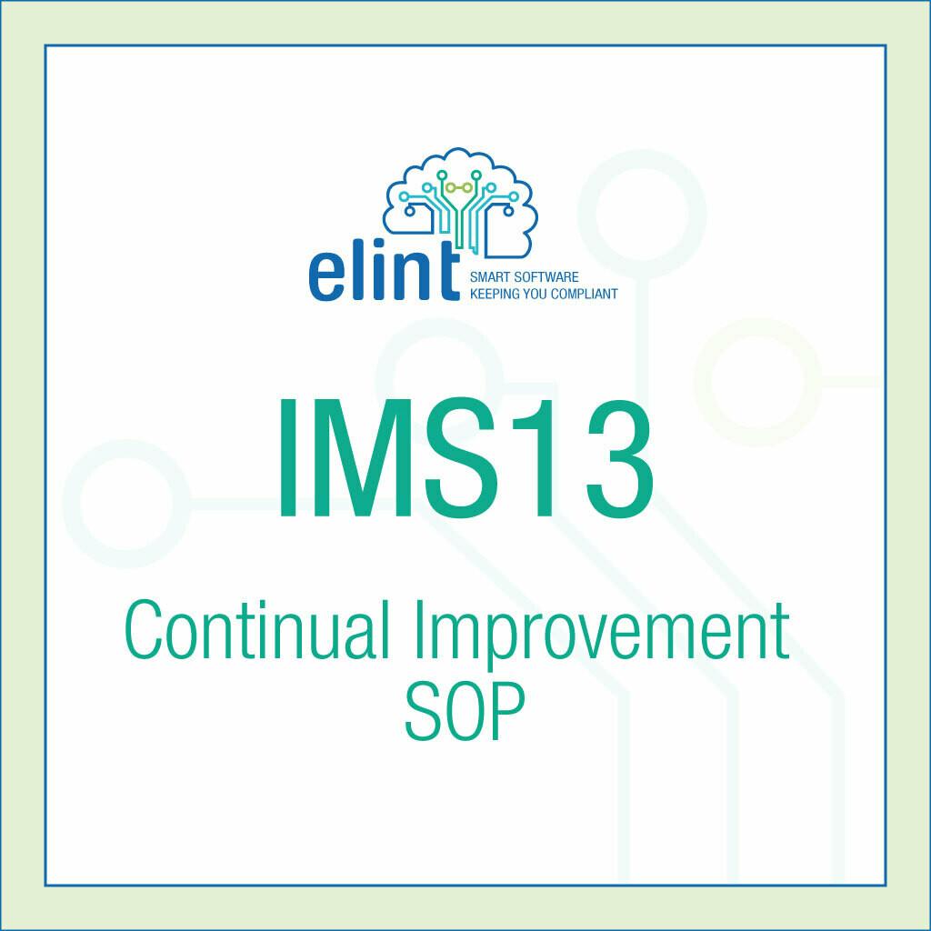 IMS13-Continual-Improvement-SOP