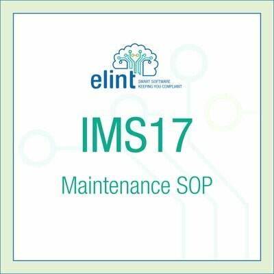IMS17-Maintenance-SOP
