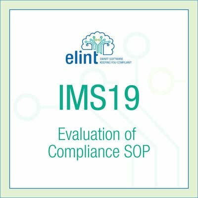 IMS19-Evaluation-of-Compliance-SOP