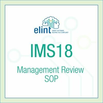 IMS18--Management-Review-SOP