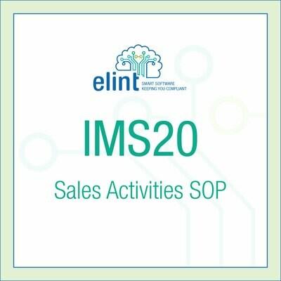 IMS20-Sales-Activities-SOP