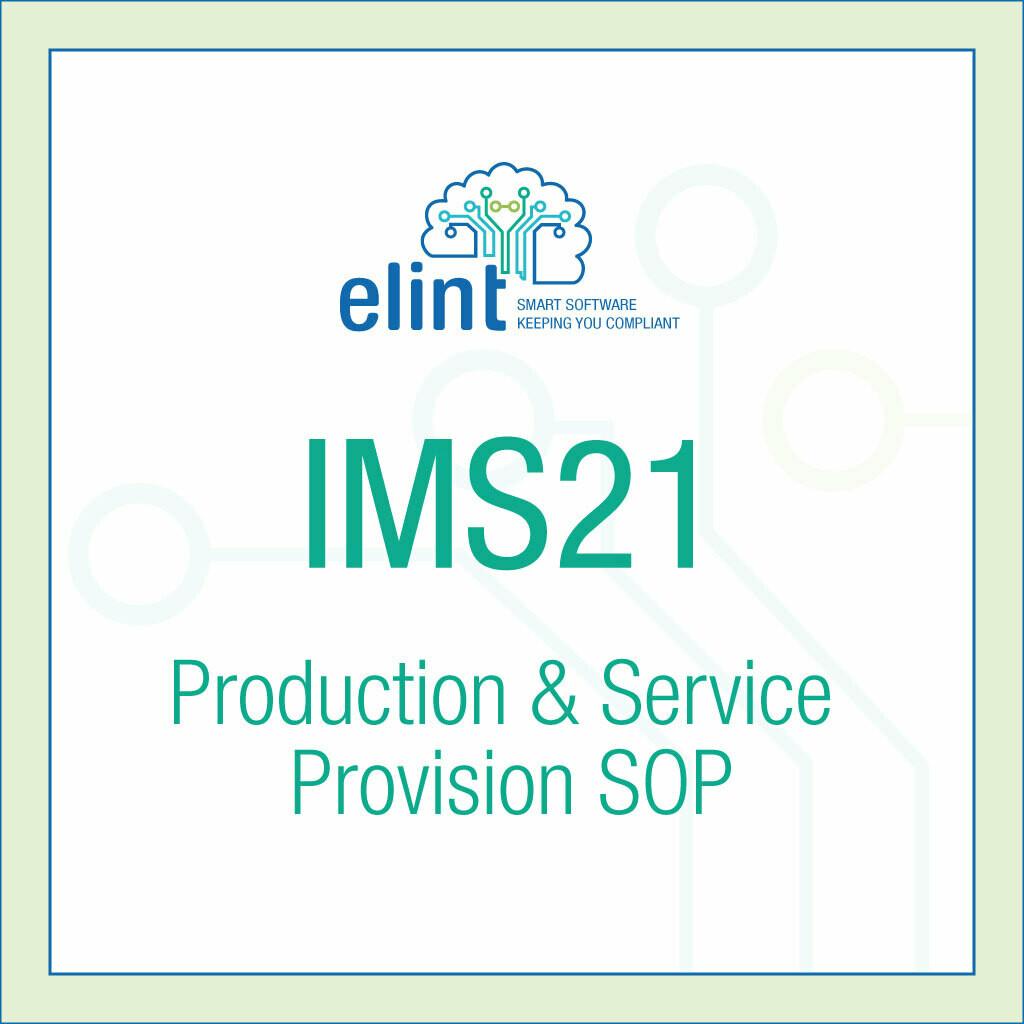 IMS21-Production-&-Service-Provision-SOP