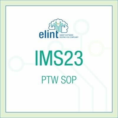 IMS23: PTW-SOP