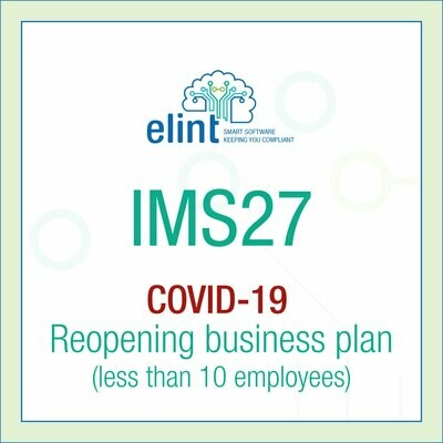 COVID19 Reopening business plan
