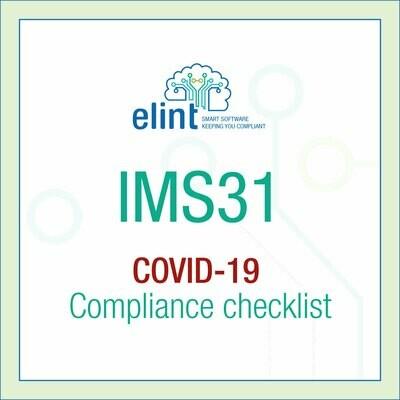 COVID19 Compliance Checklist