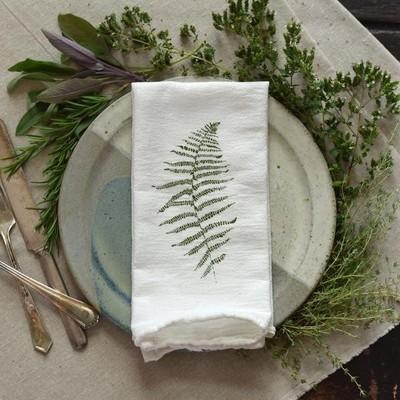 June & December - Wood Fern Napkin