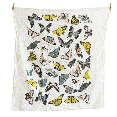 June & December - Butterfly House Towel