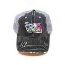 Gracie Designs - Fabric State - Montana Hat