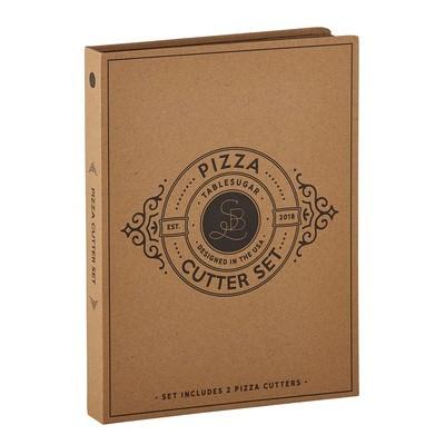 Creative Brands - Cardboard Book - Pizza Cutter