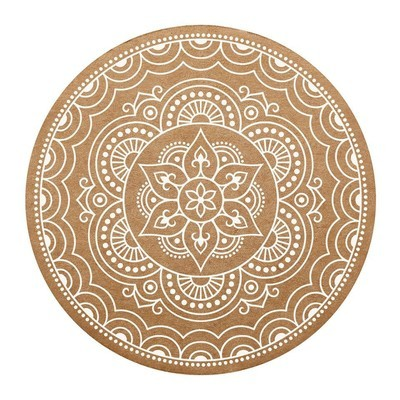 Creative Brands - Cardboard Coaster - Mandala - 8pk