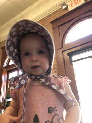 Hudderite Handmade Bonnet