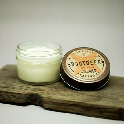 Four Points Trading Co - Root Beer 4 oz Soy Candle