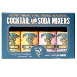 Portland Syrups - Cocktail and Soda Mixers Bottle Gift Set