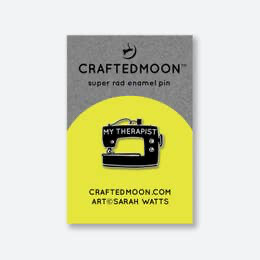 Craftedmoon - My Therapist Enamel Pin