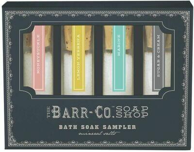 Barr Co Bath Soak Sampler