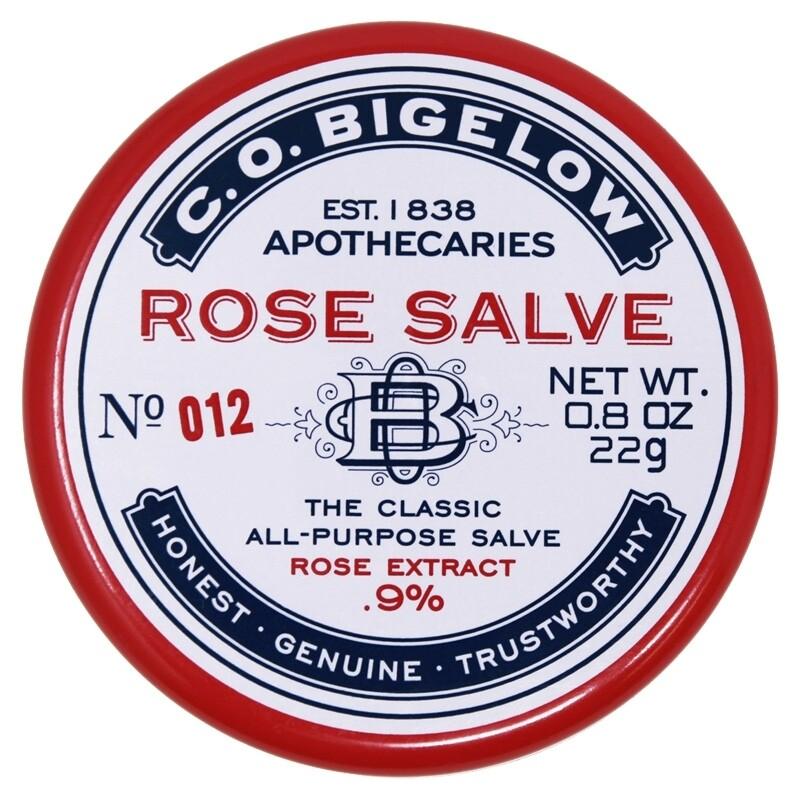 C.O. Bigelow Rose Salve Tin - 0.8oz