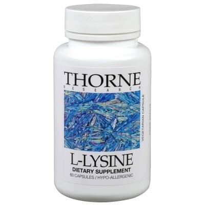 L Lysine by Thorne 500mg