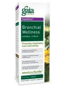 Gaia Bronchial Wellness Syrup 5.4oz