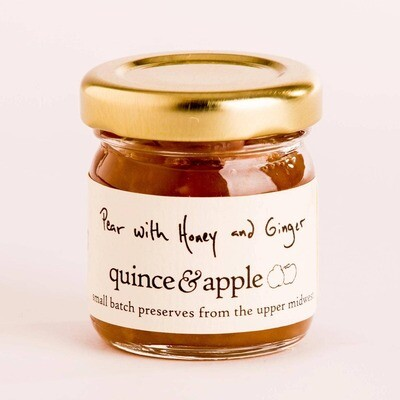 1.5oz Pear with Honey and Ginger Preserve