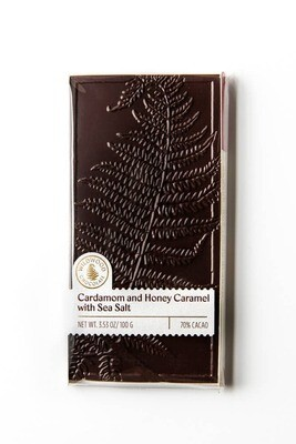 Cardamom and Honey Caramel with Sea Salt