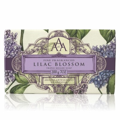 AAA Triple Milled Soap 7.05 oz  Lilac Blossom
