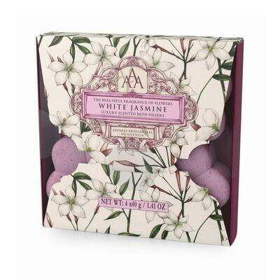 AAA Bath Fizzers- White Jasmine