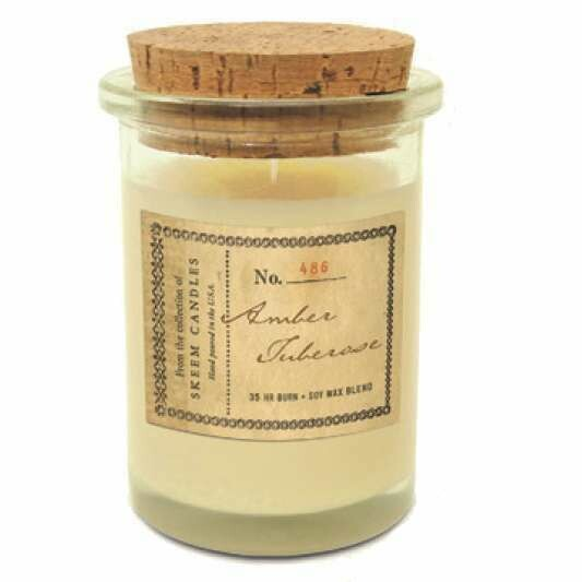 Amber Tuberose Candle From Skeem
