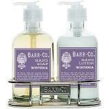 Barr co Wisteria caddy lotion and hand wash
