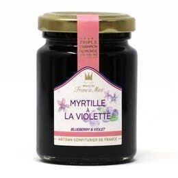 Blueberry & Violet Fruit Preserve, 3.5oz (100g)