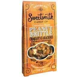 Canadian Maple Peanut Brittle by Sweetsmith Candy Co.