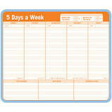 5 Days A Week Paper Notepad Mousepad