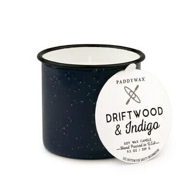 Driftwood And Indigo Candle