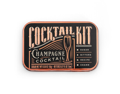 Champagne Cocktail Kit Version 2 no alcohol