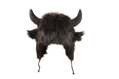Bison Buffalo Hat for kids size large