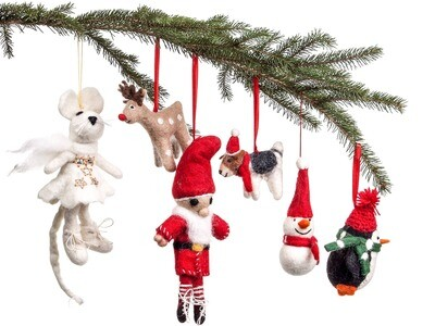Christmas Ornaments will vary