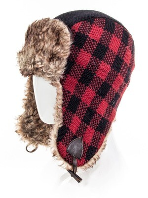 Chase trapper Buffalo Plaid hat