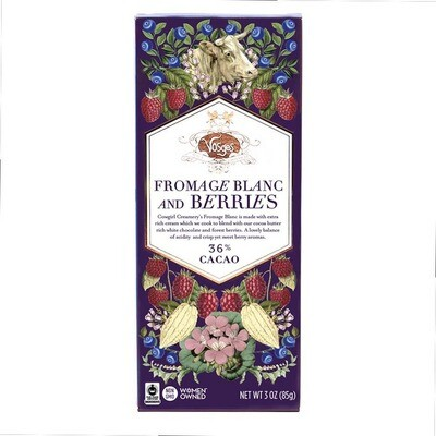 Cheese & Chocolate Bars - Fromage Blanc & Berries