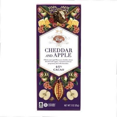 Cheese & Chocolate Bars - Cheddar & Apple