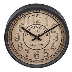 Beige Round Clock