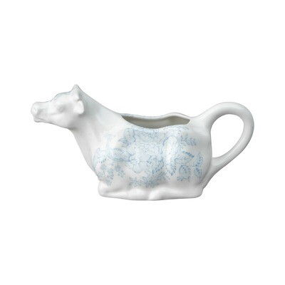 Blue Asiatic Pheasant Cow Creamer Boxed