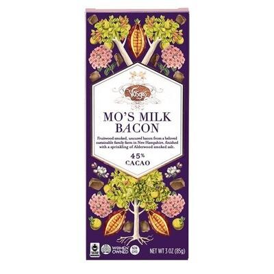 Chocolate Bars - Mo's Milk Chocolate Bacon Bar