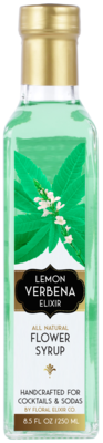 Lemon Verbena Elixir - All Natural Cocktail & Soda Syrup