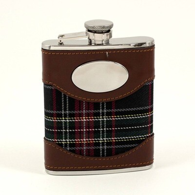Stainless Steel Flask - Brown and Blue