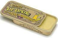 Lip Licking Lip Balm - Banana Daiquiri - Vintage Retro Sliding Tin